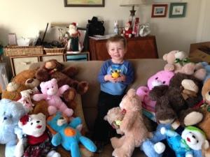 Jack with bears